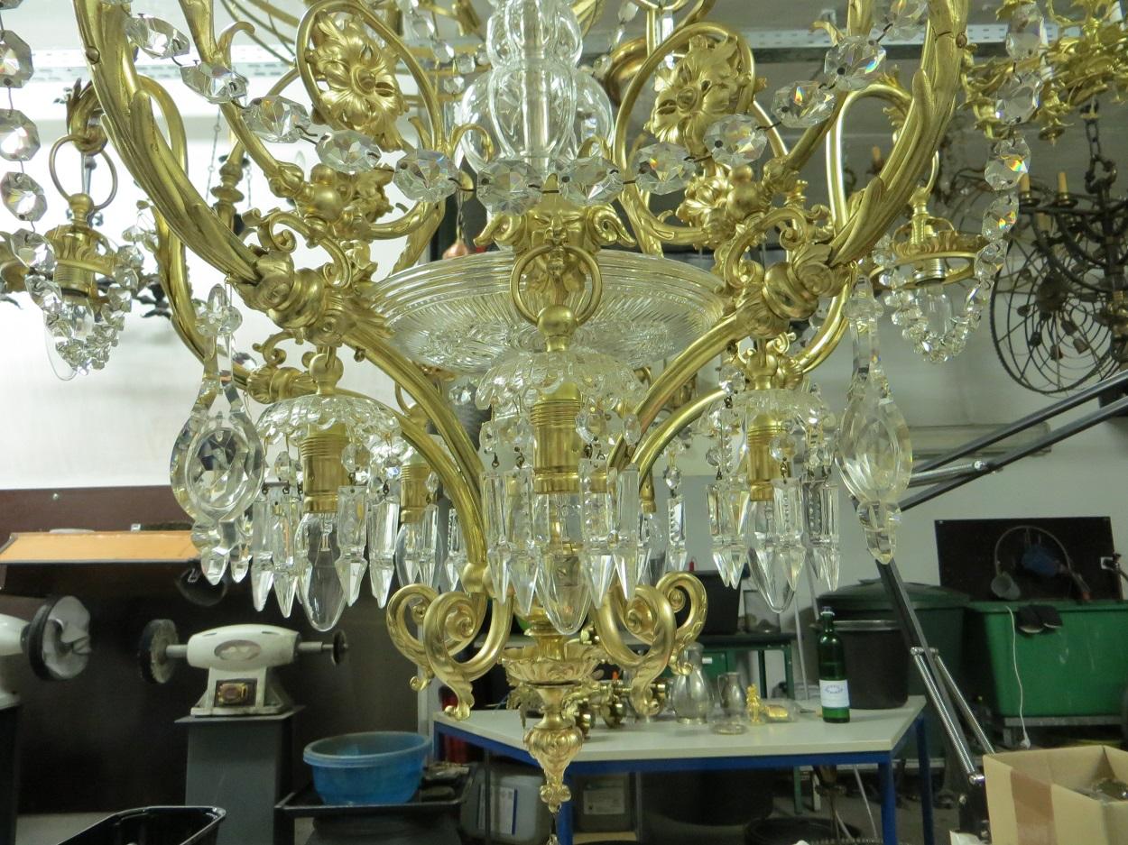 Kronleuchter Behang ~ Restaurierung antiker lampen und kronleuchter in dresden und sachsen